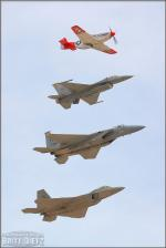 United States Air Force Heritage Flight - Nellis AFB Airshow 2006: Day 2 [ DAY 2 ]