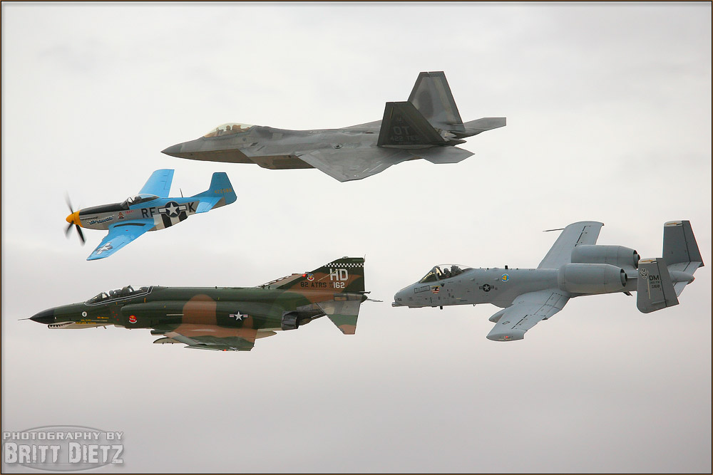 Nellis AFB Airshow 2007 - November 10-11, 2007