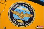 The official Centennial of Naval Aviation logo applied to many of the aircraft at the event - Photo by Britt Dietz