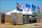 A vendor selling patches and pins at the 2012 Orange County Great Park MCAS El Toro Airshow - Photo by Britt Dietz