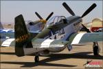 North American P-51D Mustang - Planes of Fame Pre-Airshow Setup 2013 [ DAY 1 ]