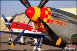 North American Strega Racer   &  P-51D Mustang - Planes of Fame Pre-Airshow Setup 2013 [ DAY 1 ]