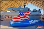 US Navy Ship: USS Midway  Booth - NAF El Centro Airshow 2014