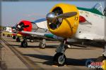 North American T-6 Texans - Riverside Airport Airshow 2014