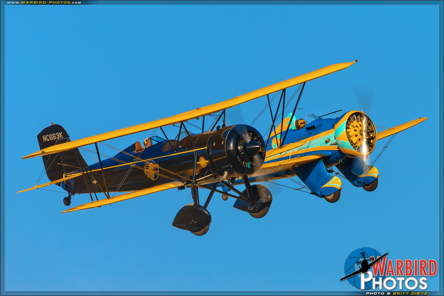 Stearman4E Speedmail   &  P-26A Peashooter - Planes of Fame Airshow 2016 Day 1 Photo Gallery