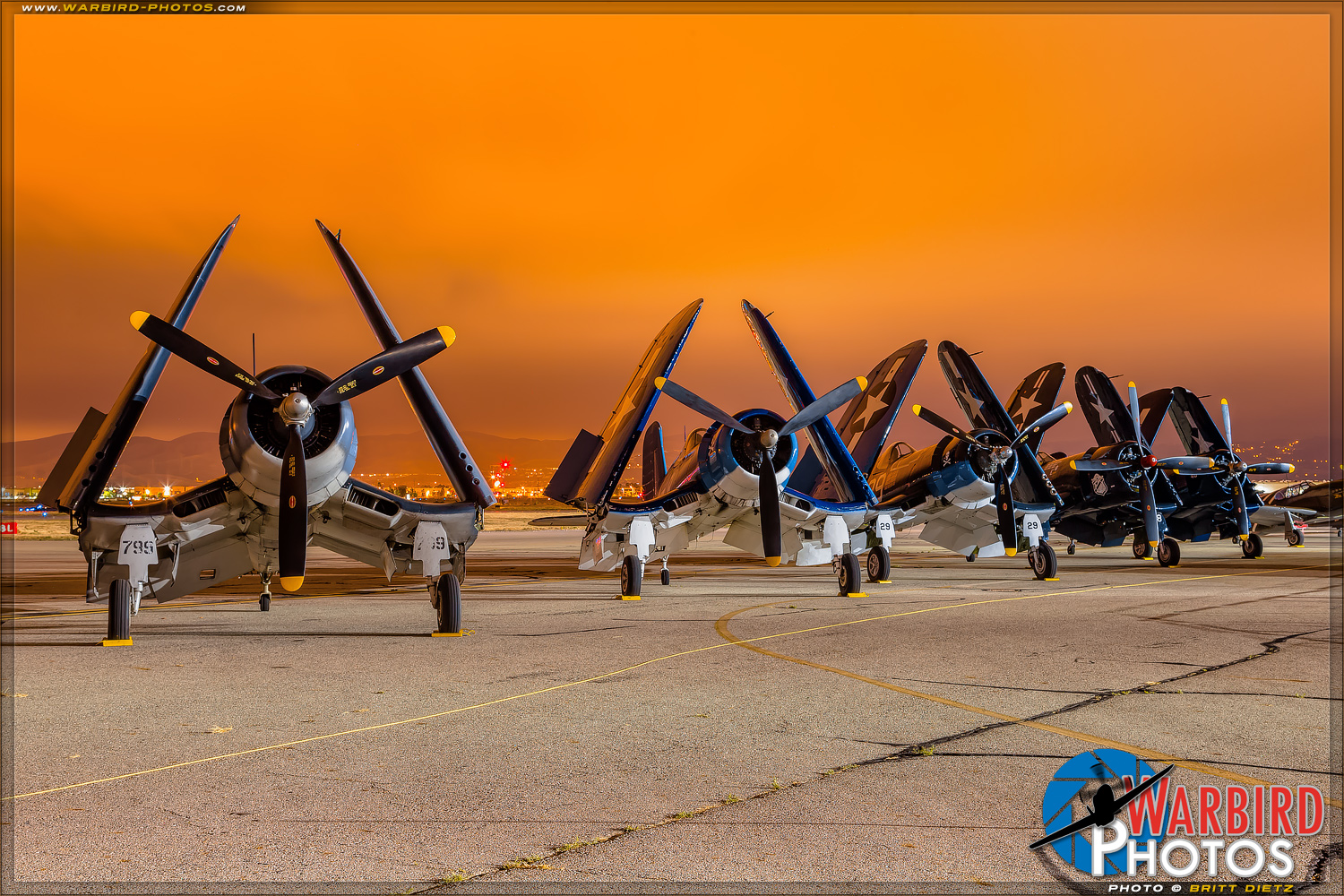 Vought F4U Corsairs    - Planes of Fame Airshow 2017 Day 1 Photo Gallery