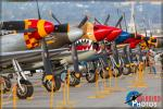 Airshow Hot Ramp  Warbirds - Planes of Fame Airshow 2017: Day 2 [ DAY 2 ]