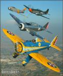 United States Air Force Formation - Air to Air Photo Shoot - May 18, 2006