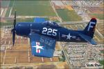 Grumman F8F-2 Bearcat - Air to Air Photo Shoot - May 6, 2009