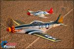 North American P-51D Mustangs - Air to Air Photo Shoot - October 10, 2015