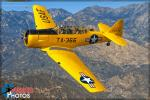 North American T-6G Texan - Air to Air Photo Shoot - February 22, 2016