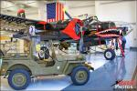 Willys Jeep   &  A-26B Invader - Santa Ana, California: Lyon Air Museum - Duesenberg Exhibit - July 8, 2011