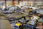 Restoration Facility - Planes of Fame Air Museum: Pre-War Fighters - January 7, 2012