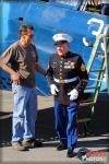 US Marine Corps Veteran SSgt Sidney  Zimman - Planes of Fame Air Museum: Air Battle over Rabaul - February 1, 2014