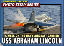 Special Photo Essay on a 2011 Week long trip aboard the US Navy Aircraft Carrier: The Abraham Lincoln (CVN-72)